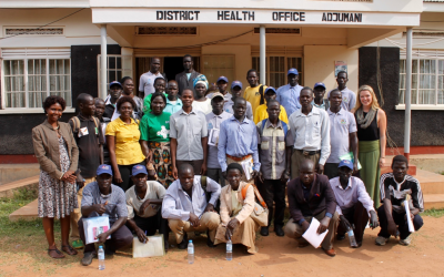 TERREWODE Works with Adjumani Local Government to Train Village Health Teams