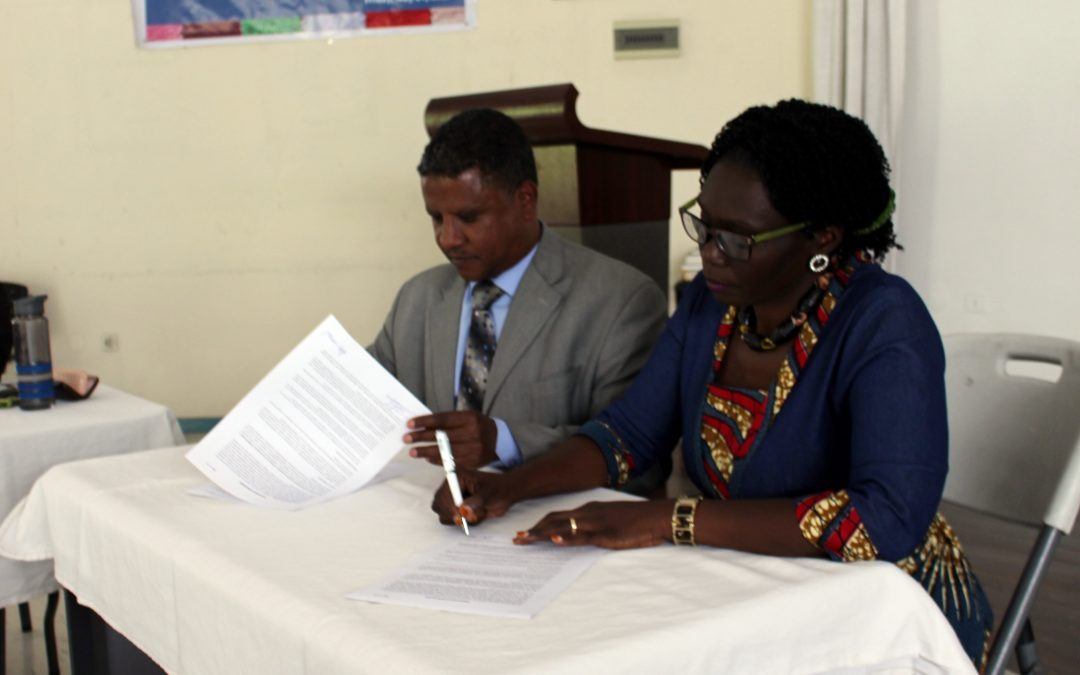 TERREWODE Hospital Signs MOU with Hamlin Fistula Ethiopia